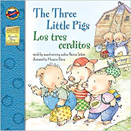 The Three Little Pigs English Spanish Bilingual