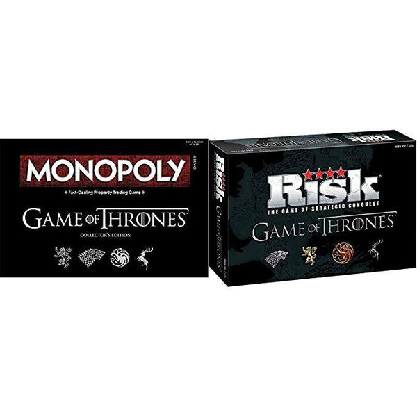Risk and Monopoly Game of Thrones Board Game Bundle