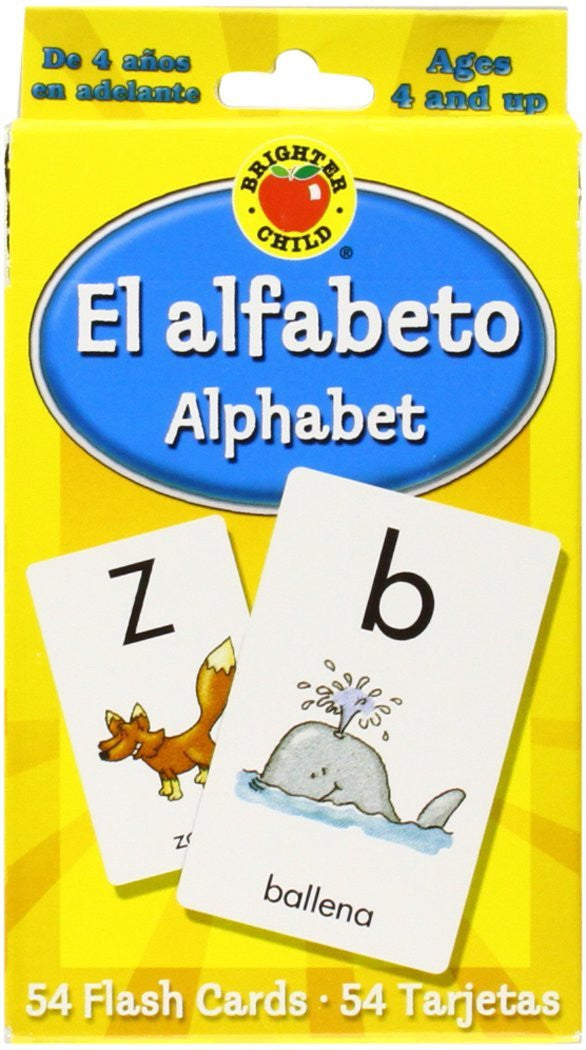 El alfabeto Flash Cards: Alphabet - Teacher In Spanish