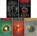 Juego de Tronos Series 1-5 Game Of Thrones Set in Spanish New