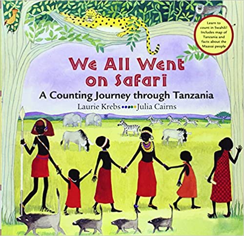 We All Went On Safari Swahili/English Bilingual Book