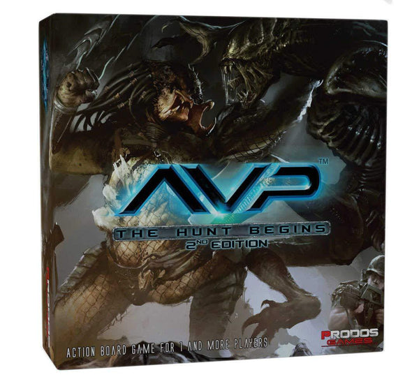 Alien vs Predator The Hunt Begins AVP Board Game 2nd Edition