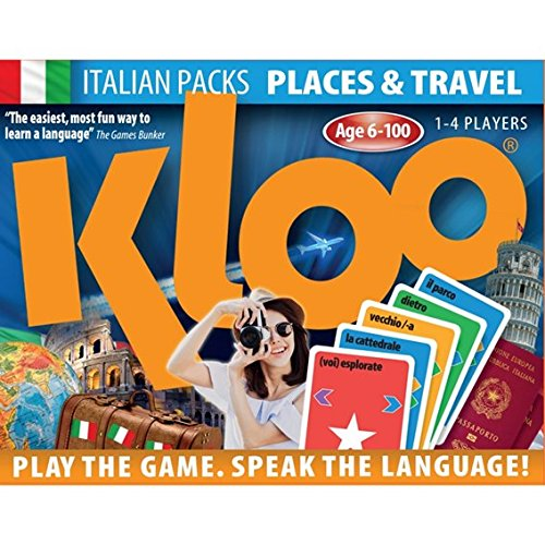Learn to Speak Italian Language Card Games