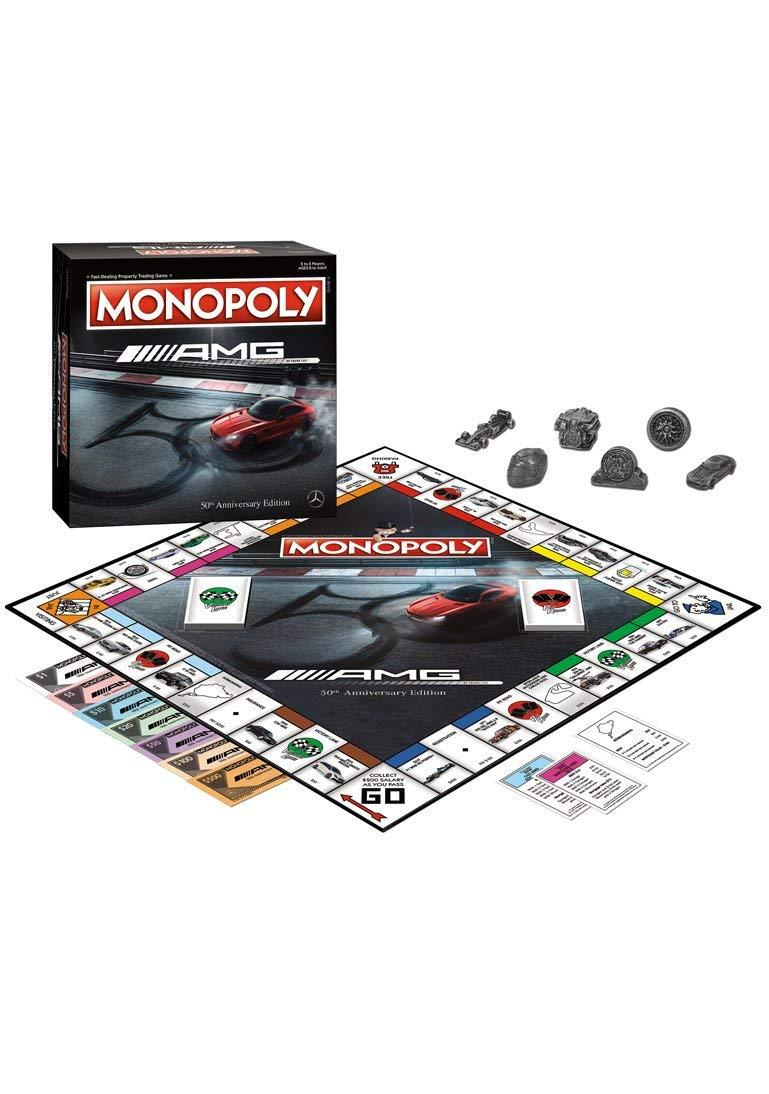 Mercedes Benz 50 Years of AMG Monopoly Game