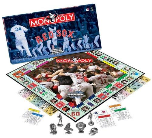 Boston Red Sox 2004 World Series Monopoly