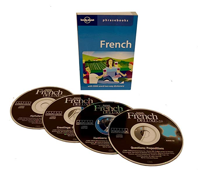 Topics Instant Immersion Learn to Speak French with 4 Audios CD