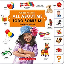 All About Me English Spanish Bilingual Board Book