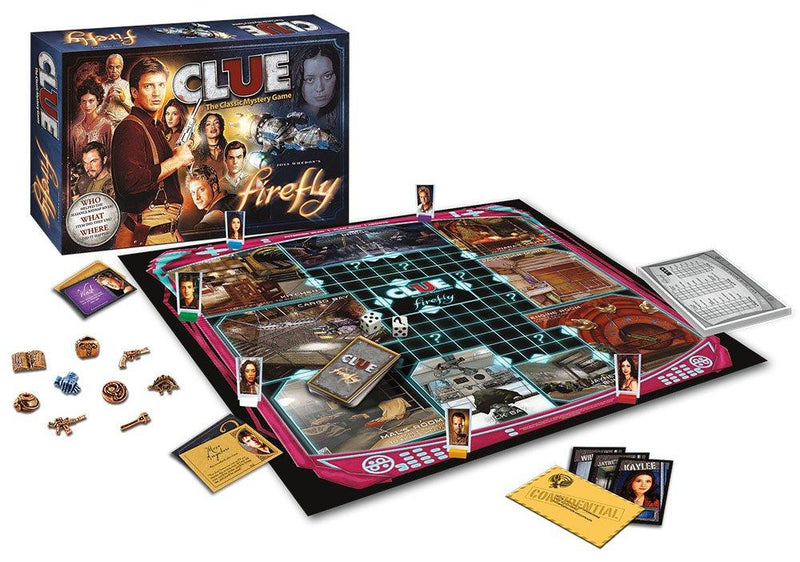 Firefly Clue Board Game