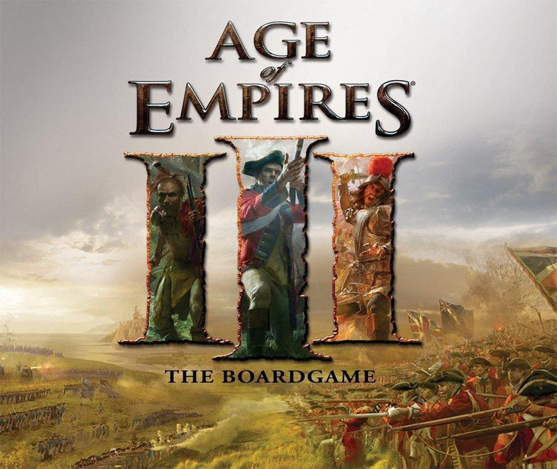Age of Empires III Age of Discovery Board Game