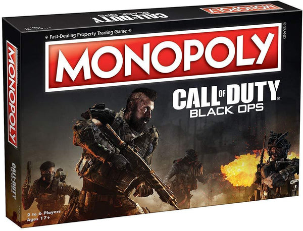 Call of Duty Black Ops Monopoly Board Game