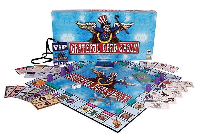 Grateful Deadopoly Board Game Used