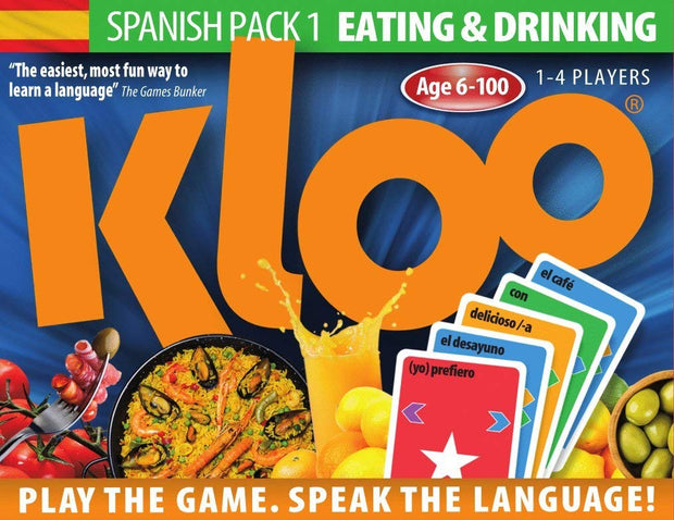 Learn to Speak Spanish Language Card Games