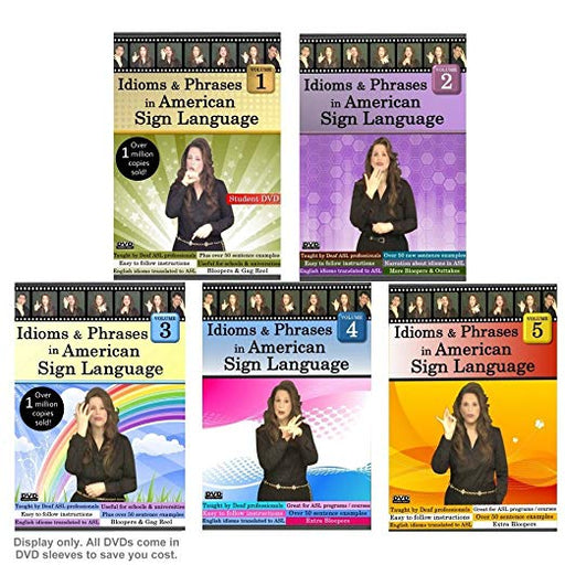 Idioms and Phrases in ASL DVD's