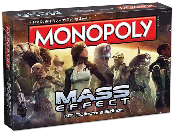 Mass Effect N7 Monopoly Board Game