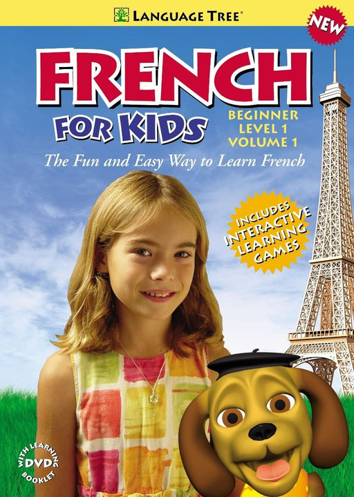 French for Kids: Learn French with Penelope and Pezi, Beginner Level 1, Vol. 1 - DVD