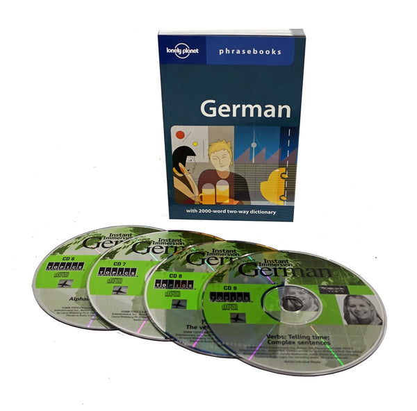 Topics Instant Immersion Learn to Speak German with  4 Audios CD