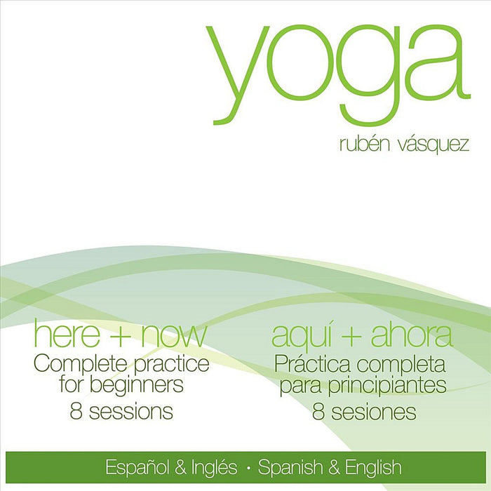 Yoga Spanish and english Aqui Ahora Here and Now DVD