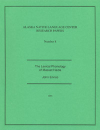 The Lexical Phonology of Masset Haida