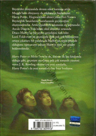 Harry Potter Ve Melez Prens; Turkish Harry Potter 6