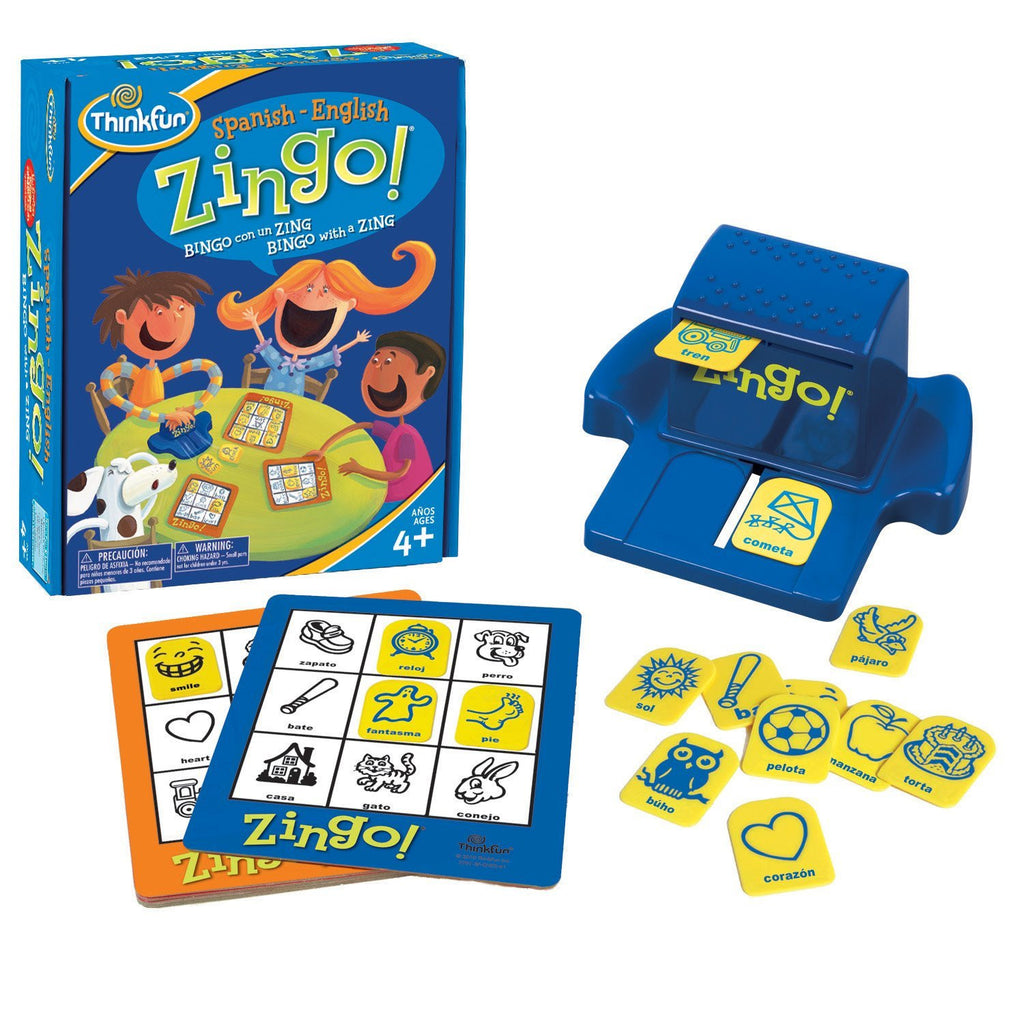 ThinkFun Bilingual Zingo! Spanish