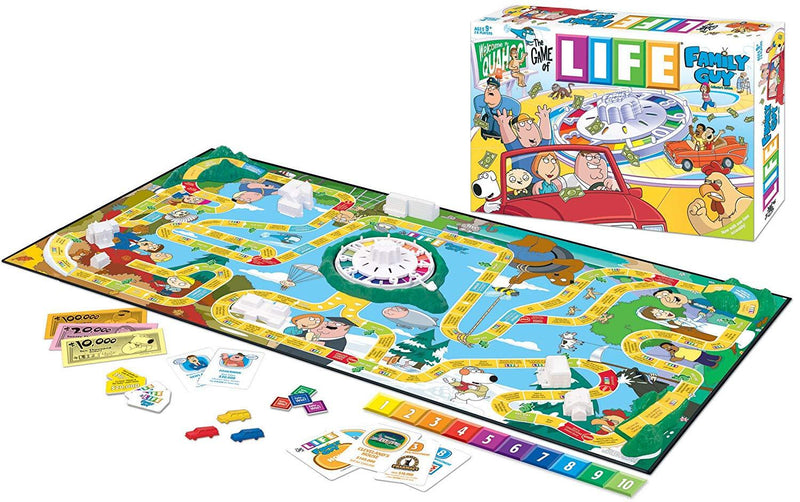 Family Guy Life Board Game