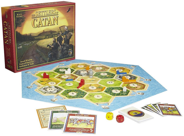 The Settlers of Catan 4th Edition Board Game