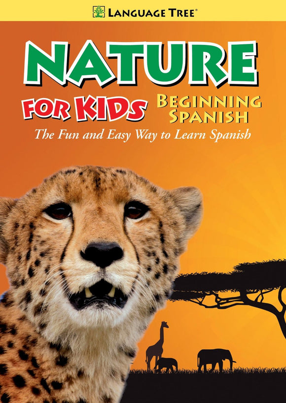 Nature for Kids Learn Spanish / Beginning Spanish DVD
