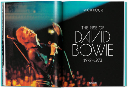Mick Rock The Rise of David Bowie, 1972-1973 Multilingual Eng. Germ. French