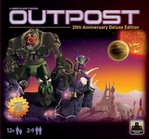 Outpost Board Game 20th Anniversary Stronghold Games