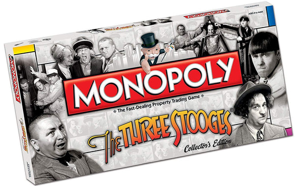 The Three Stooges Monopoly Board Game