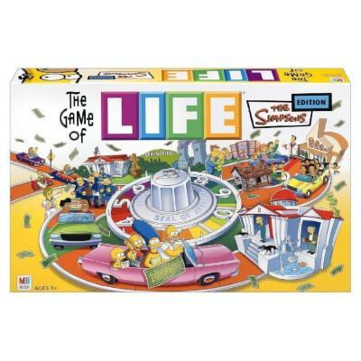 The Game of Life Simpsons Board Game