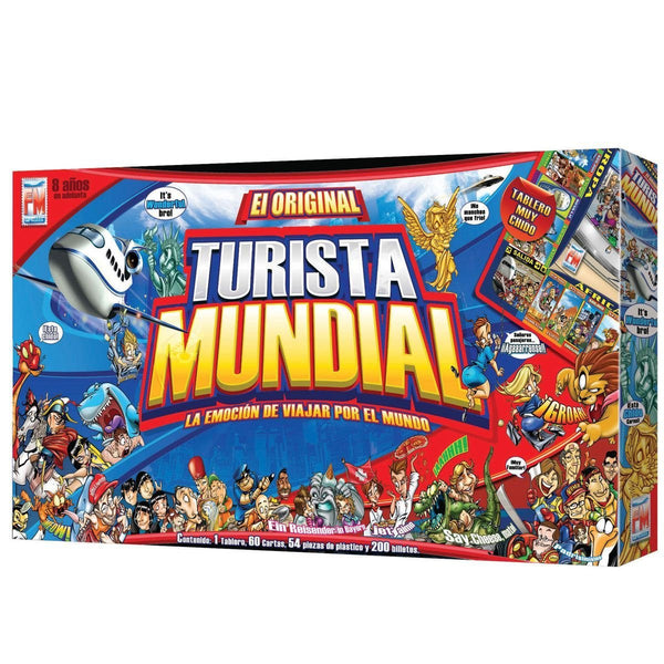 Fotorama / El Original Turista Mundial Juego de Mesa [Global Economy Board Game] - Teacher In Spanish