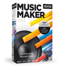Music Maker 2014 by MAGIX CD-ROM