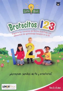 Little Buds Brotecitos 123 DVD