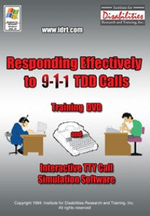 Responding Effectively to 9-1-1 TTY Calls – Training DVD