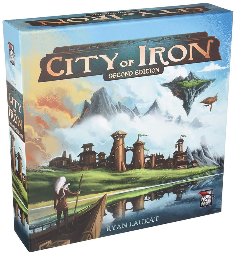 City of Iron Second Edition Board Game