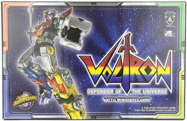 Voltron Defender of the Universe Game