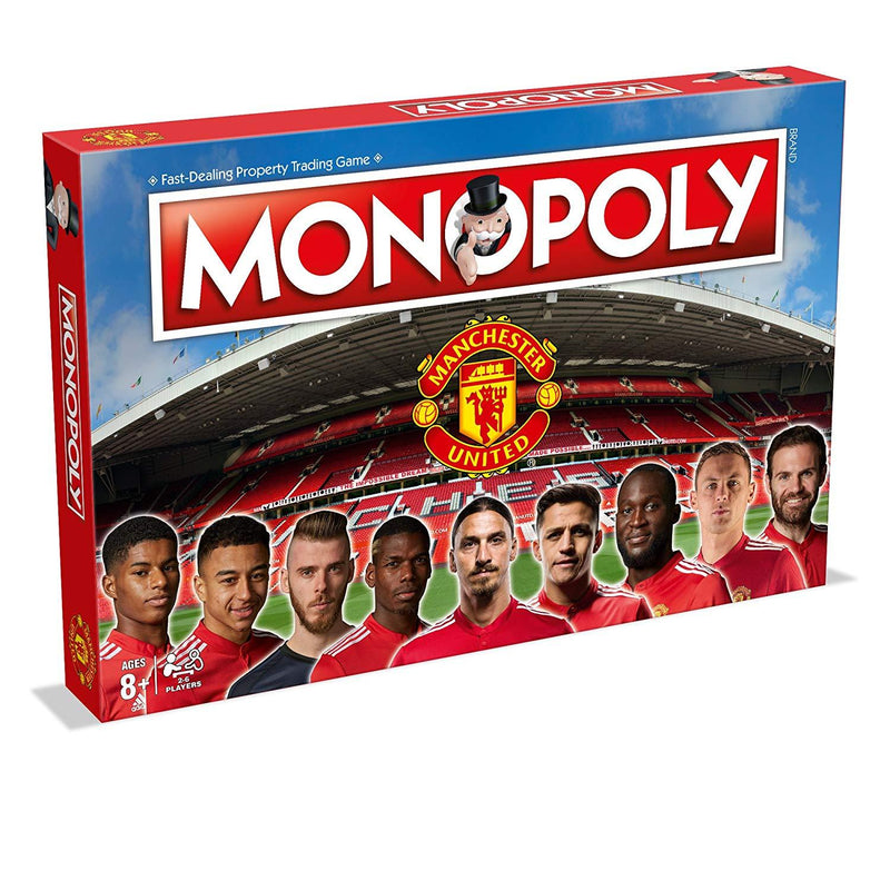 Manchester United FC Monopoly Board Game