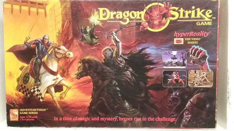 Dragon Strike VHS Board Game Used 1993