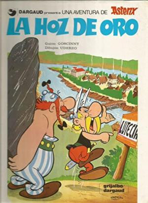Asterix - La Hoz de Oro (Spanish Edition)