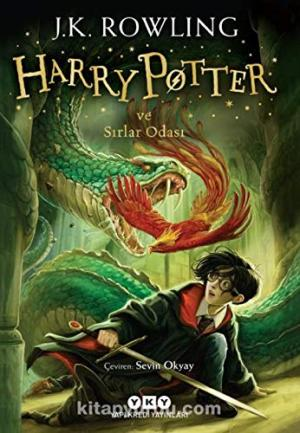 Harry Potter and the Chamber of Secrets Book 2 in Turkish Paperback