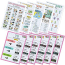 11 Pack of French Classroom Posters - Verbs and Vocabulary
