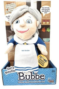 Ask Bubbe Talking Yiddish Jewish Grandmother Doll