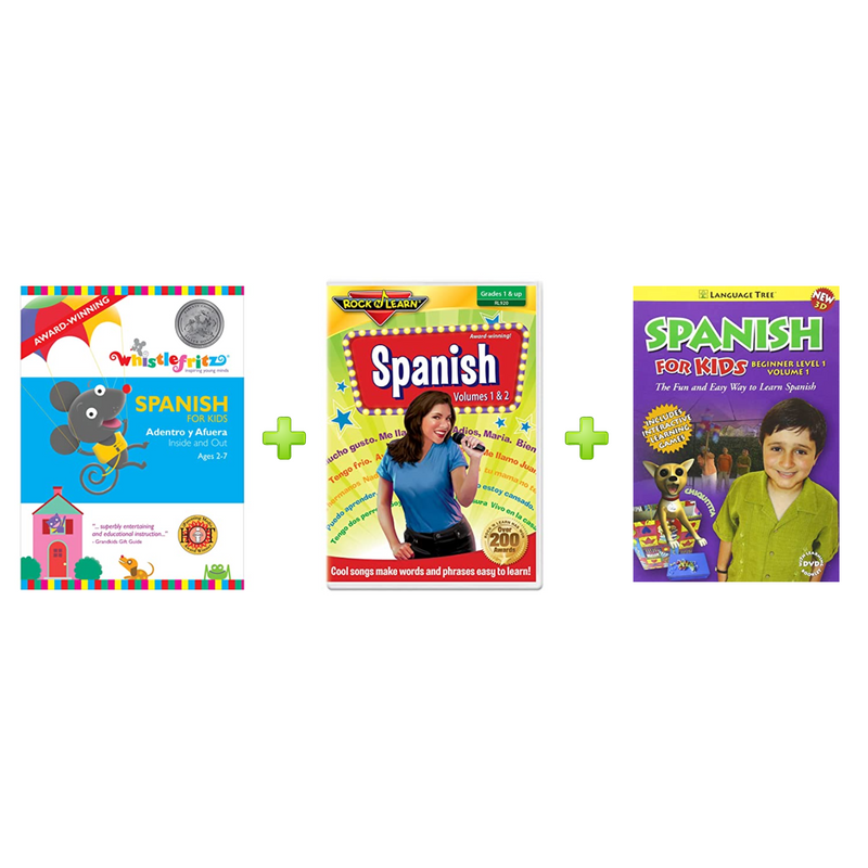 Spanish for Children DVD Bundle