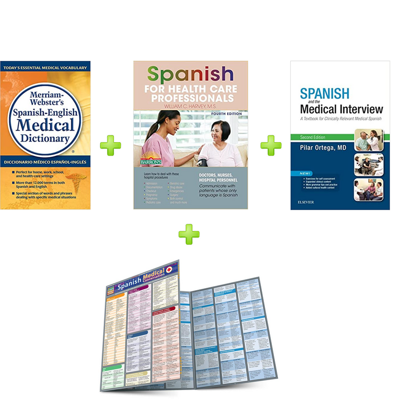 Learn Spanish for Healthcare  Bundle