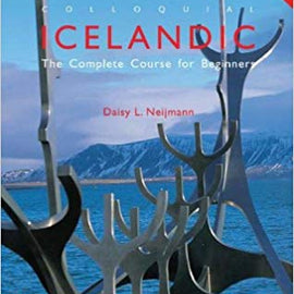 Colloquial Icelandic Book and 2 Cd's