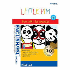 English Little Pim Individual Packages: (Eating and Drinking / Wake Up Smiling / Playtime / In My Home / Happy, Sad and Silly / I Can Count!)