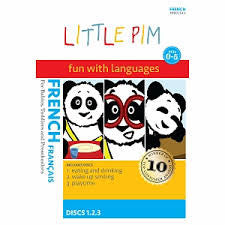 French Little Pim DVD Series for Children