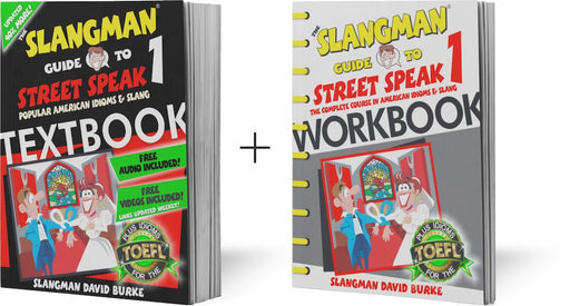 Street Speak Slang Bundle Books 1, 2 & 3 with audio