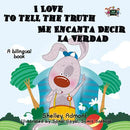 I Love to Tell the Truth English and Spanish Bilingual Kids Book